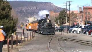 Durango And Silverton Cascade Train