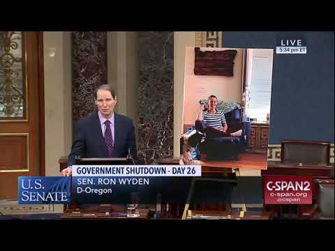 Wyden Statement on Shutdown Consequences for Oregonians