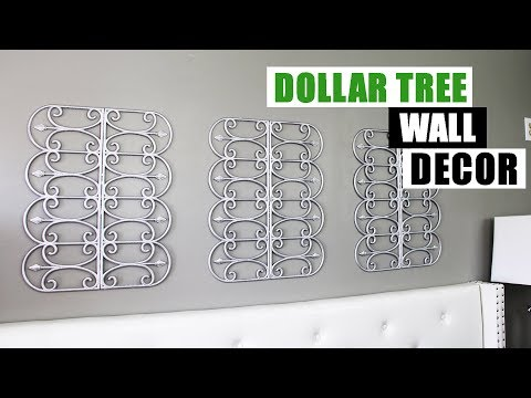 DIY DOLLAR TREE WALL DECOR DIY Glam Home Decor