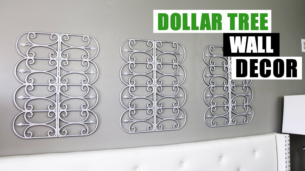 Diy Wall Decor Home Decorating Idea: DIY DOLLAR TREE WALL DECOR DIY Glam Home Decor