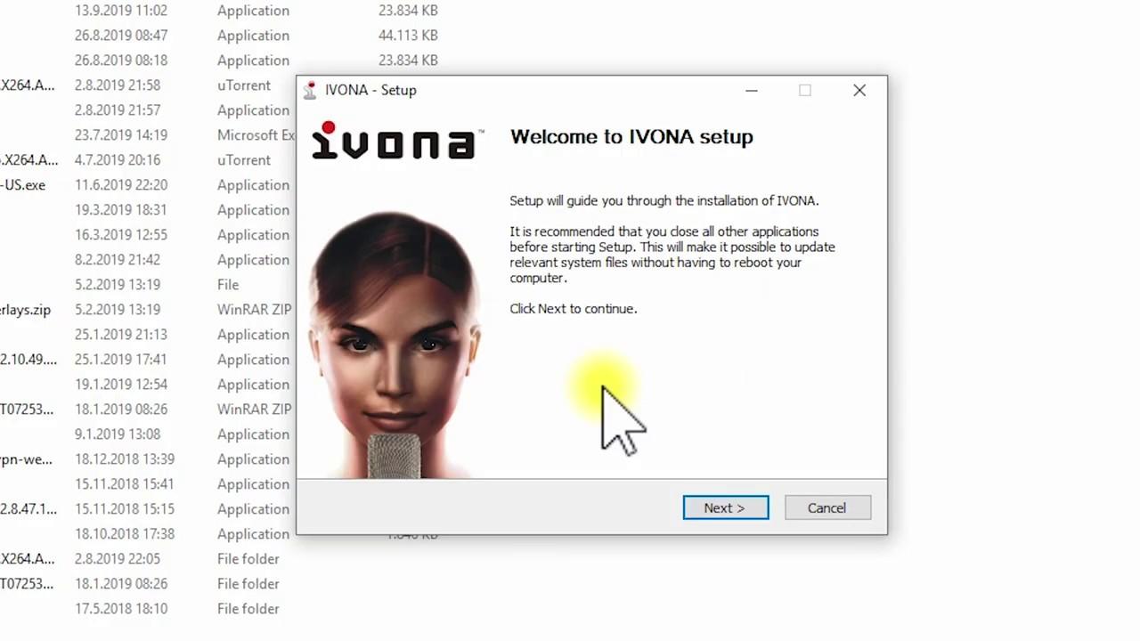Uppsetning á NVDA og IVONA - Kennslumyndband