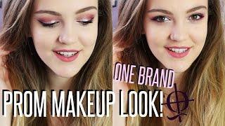 ONE BRAND PROM MAKEUP LOOK! + HUGE GIVEAWAY! || BeautySpectrum