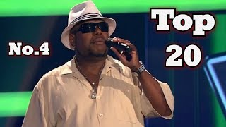 The Voice - My Top 20 Blind Auditions Around The World (No.4)