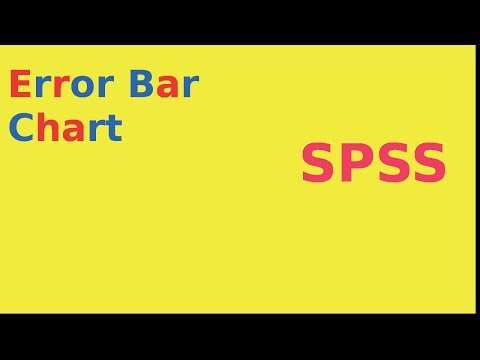 Error bar charts in SPSS