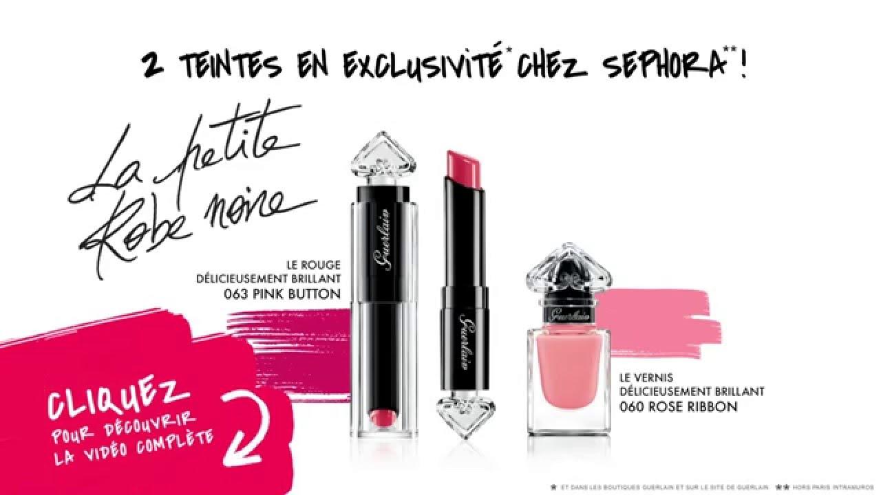 1d651a89f78  SEPHORA NEW  x Enjoy Phoenix - GUERLAIN - Présentation nouvelle collection La  Petite Robe Noire