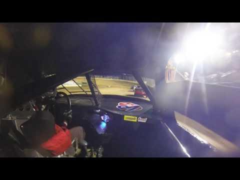 Lawrenceburg Speedway 4-1-17 Hornet Heat Race #2 In-Car Bradley Eberhart 10B