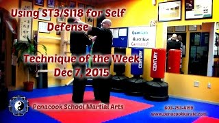 Penacook School Martial Arts/Lapel Grab Defense