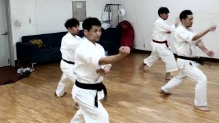 전통태권도 연무재 기본동작 및 응용동작_ 180802, Traditional Taekwondo_Basic movements_YONMUJAE, old style taekwondo