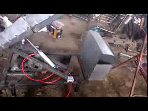Three Axis Pneumatic Modern Trailer Mechanical Engineering Project Topics