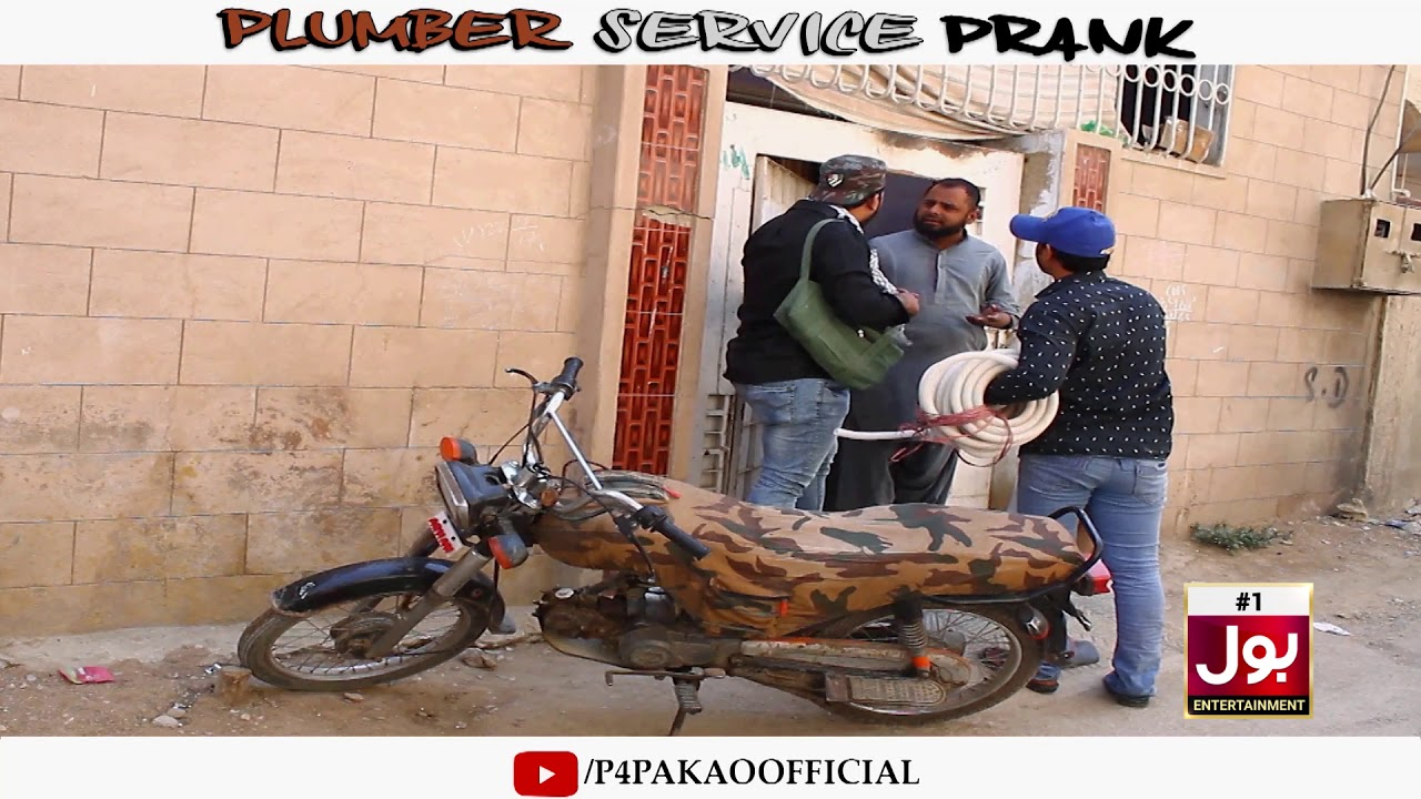 | PLUMBER SERVICE PRANK | By Nadir Ali & Ahmed In | P4 Pakao | 2019