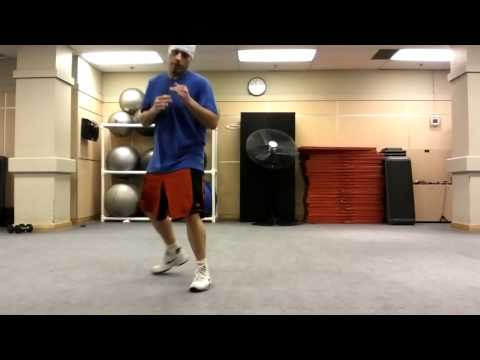 Boxing Footwork Side Shuffle Step