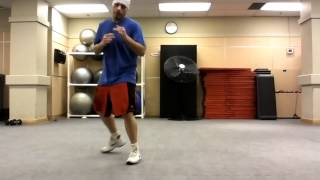 Boxing Footwork - Side Shuffle Step