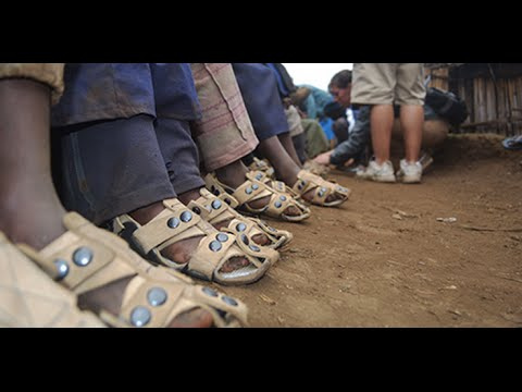 In Africa The Shoe That Grows With A Child