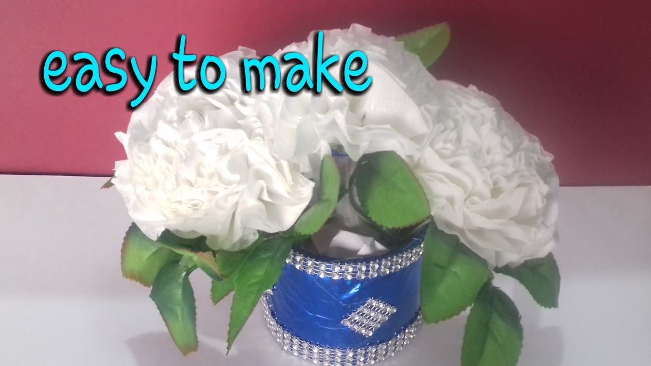 Make tissue paper flowers balls flowers easy step by make tissue paper flowers balls flowers easy step by step paper craft dhlflorist Image collections