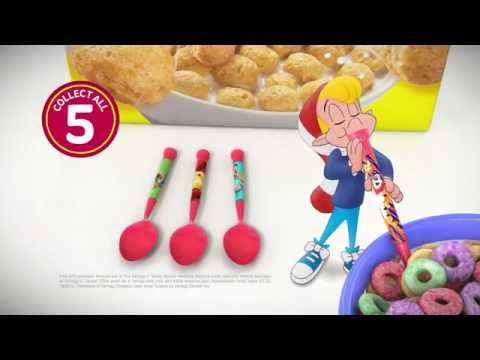 Kellogg's Spoon Straw commercial