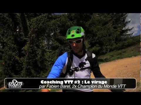 Les Gets Coaching VTT - #2 Le Virage relevé / The Bend / La Curva in Pendenza