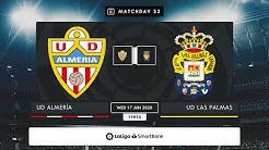 UD Almería - UD Las Palmas MD33 X1930