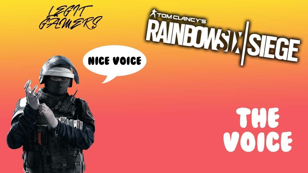 Rainbow Six Siege Voice Lines: Fuze - YouTube