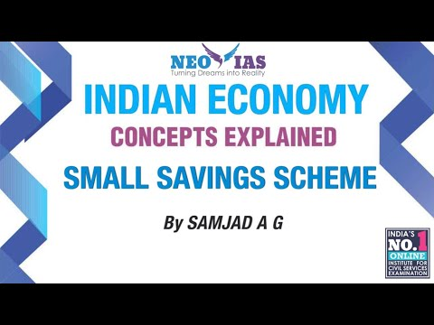 Small Savings Scheme | Prelims Current Affairs | Indian Economy | ECONOMY GURU