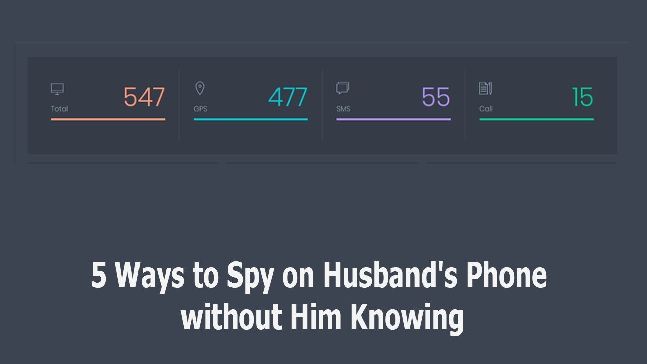5 Ways to Spy on Husband's Phone without Him Knowing - YouTube