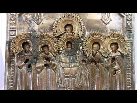 Юровичская икона Божией Матери принесена в кафедральный Собор .