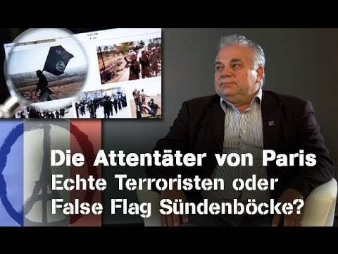 Die Attentäter von Paris: Echte Terroristen oder False Flag Sündenböcke? - Freeman im NuoViso-Talk
