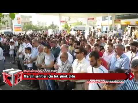 Mardin'de şehitlere vefa