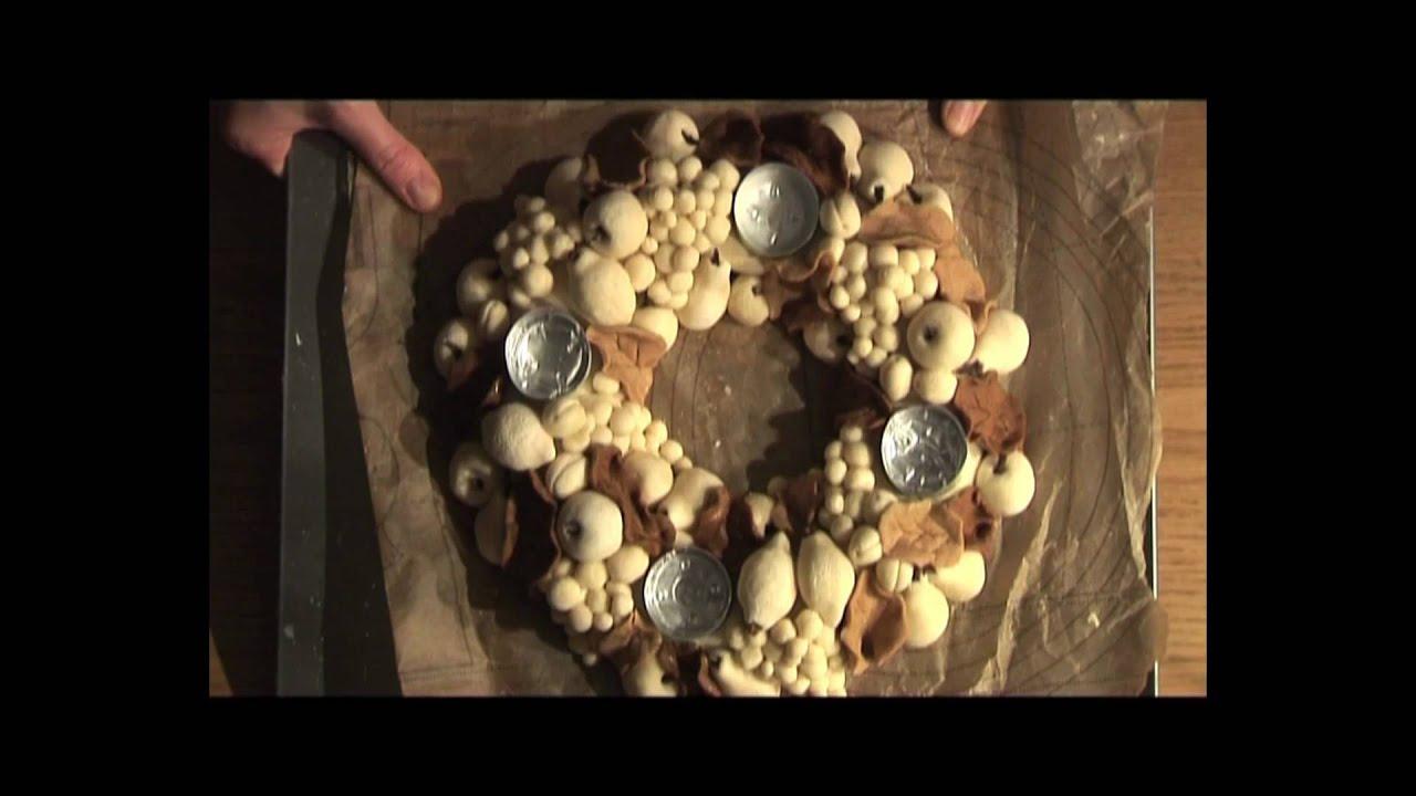 Salt Dough Decoration Dcoration en Pte  Sel  YouTube