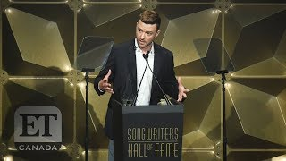 Justin Timberlake At The 2019 Songwriters Hall Of Fame
