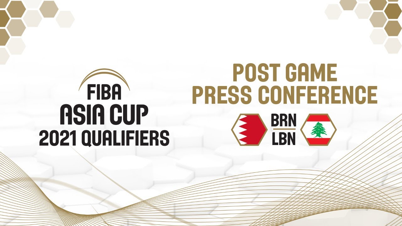 Bahrain v Lebanon - Press Conference