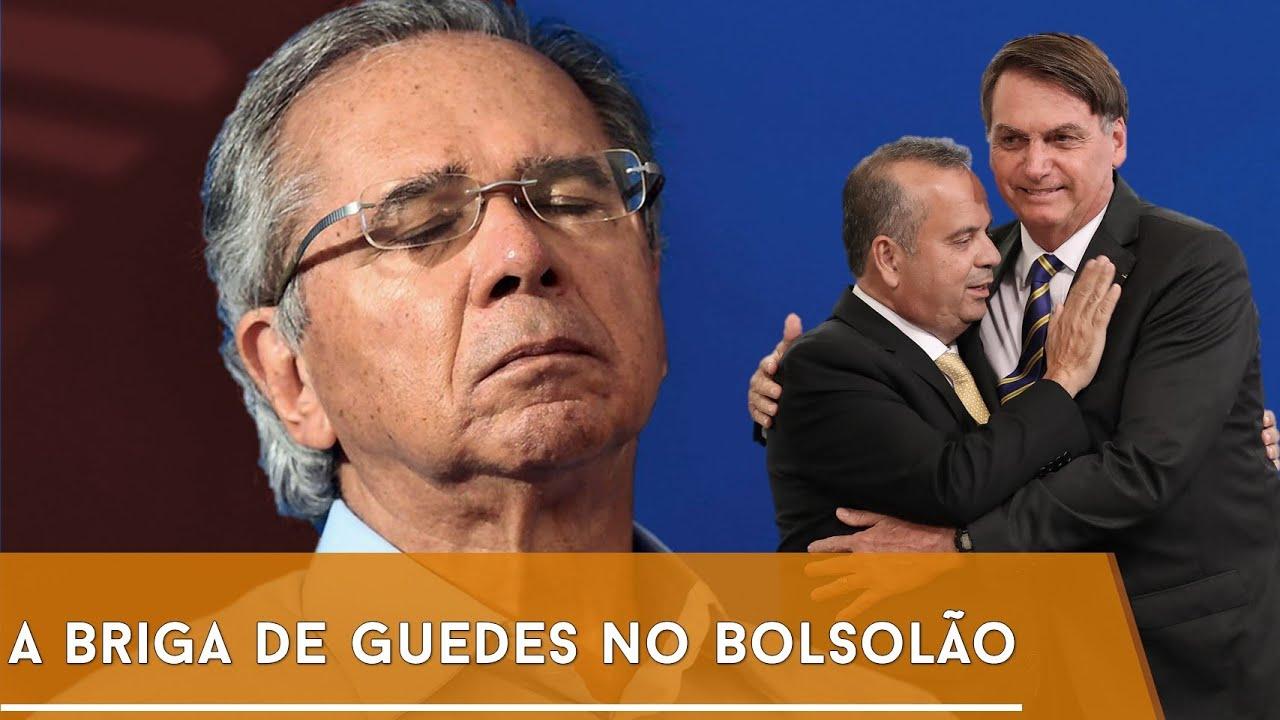 GUEDES E A DISPUTA DO MENSALÃO DE BOLSONARO