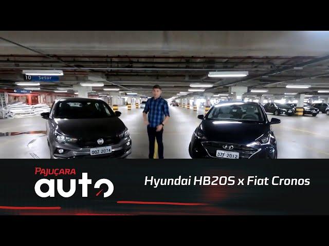 Comparativo: Hyundai HB20S x Fiat Cronos