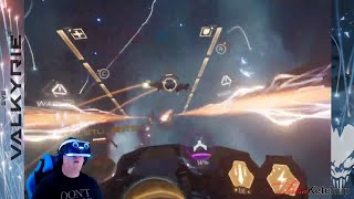 eve Valkyrie - Warzone  First Impressions PS4 Pro PSVR  Giveaway in Details