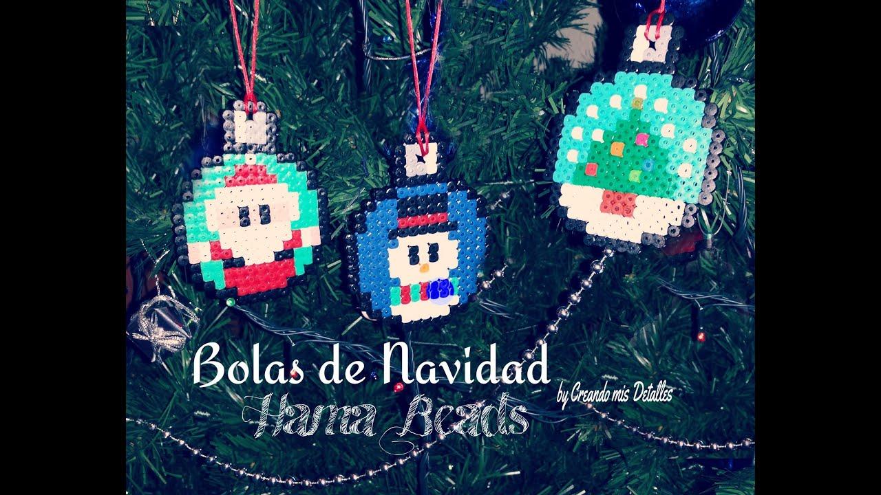 Bolas de navidad de hama beads tutorial youtube - Bolas gigantes de navidad ...