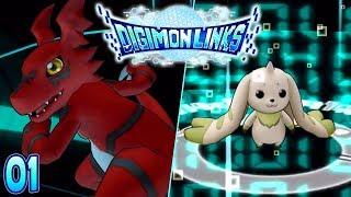 Digimon Links Part 1 RARE DIGIMON! Gameplay Walkthrough IOS Android ENGLISH