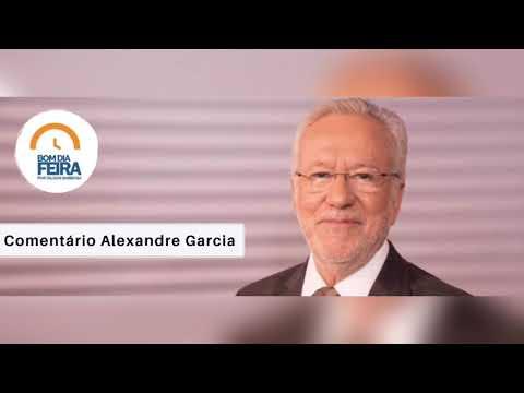 Comentário Alexandre Garcia para o Bom Dia Feira - 20 de Agosto