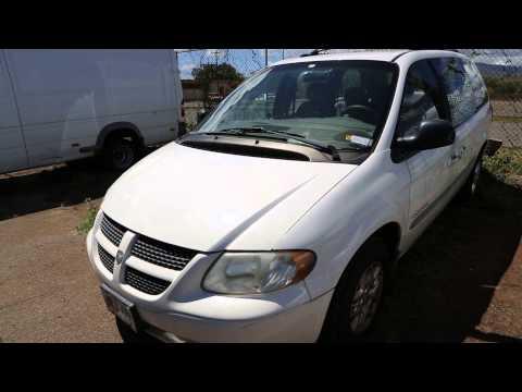 Pacific Auto Auction - Dodge Grand Caravan 2001