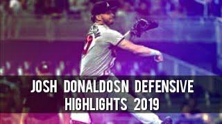 Josh Donaldson Defensive Highlights  1st Half 2019 
