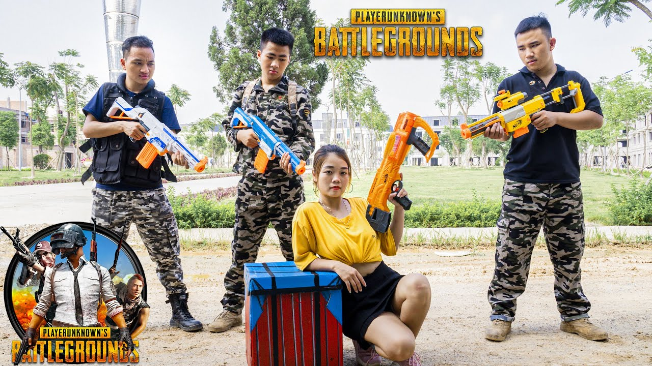 JE Nerf War: Squad SEAL Warriors Nerf Guns FREE FIRE IN REAL BATTLE