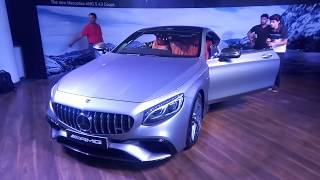 2018 Mercedes-AMG S 63 Coupè | Launch & Price | Motown India