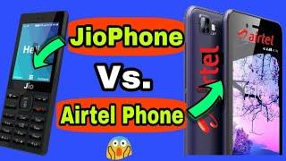 JioPhone Vs. Airtel Karbonn A40 Phone | Comparison | Which One is Better | Hindi