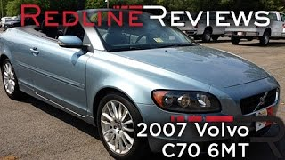 2007 Volvo C70 6MT Review, Walkaround, Exhaust, & Test Drive