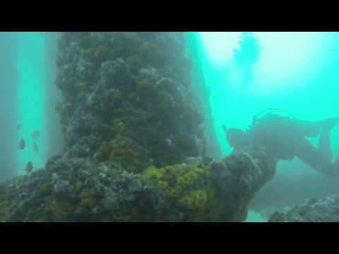 Oil Rig Diving with the Ascuba Venture dive leaders - Dive #2