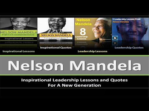 Nelson Mandela Inspirational Leadership Lessons and Quotes PPT
