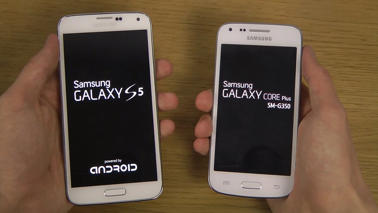 samsung galaxy s5 vs samsung galaxy core plus which is. Black Bedroom Furniture Sets. Home Design Ideas