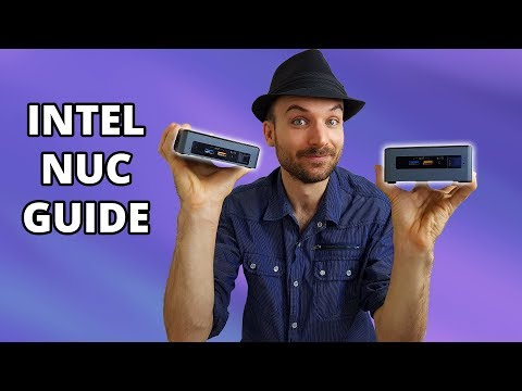 How to build an Intel NUC and install Windows 10