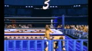 Power Move Pro Wrestling - Face (PlayStation)