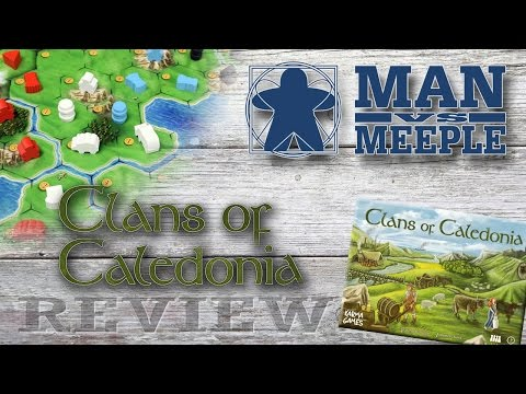 Clans of Caledonia (Karma Games) Review by Man Vs Meeple