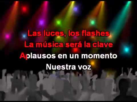 Violetta 2- Alcancemos Las Estrellas [KARAOKE]