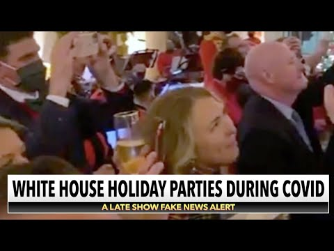 COVID-19 Was The Guest Of Honor At The Latest White House Christmas Party